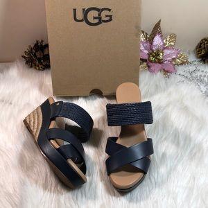 UGG® Adriana Wedge Sandals 5